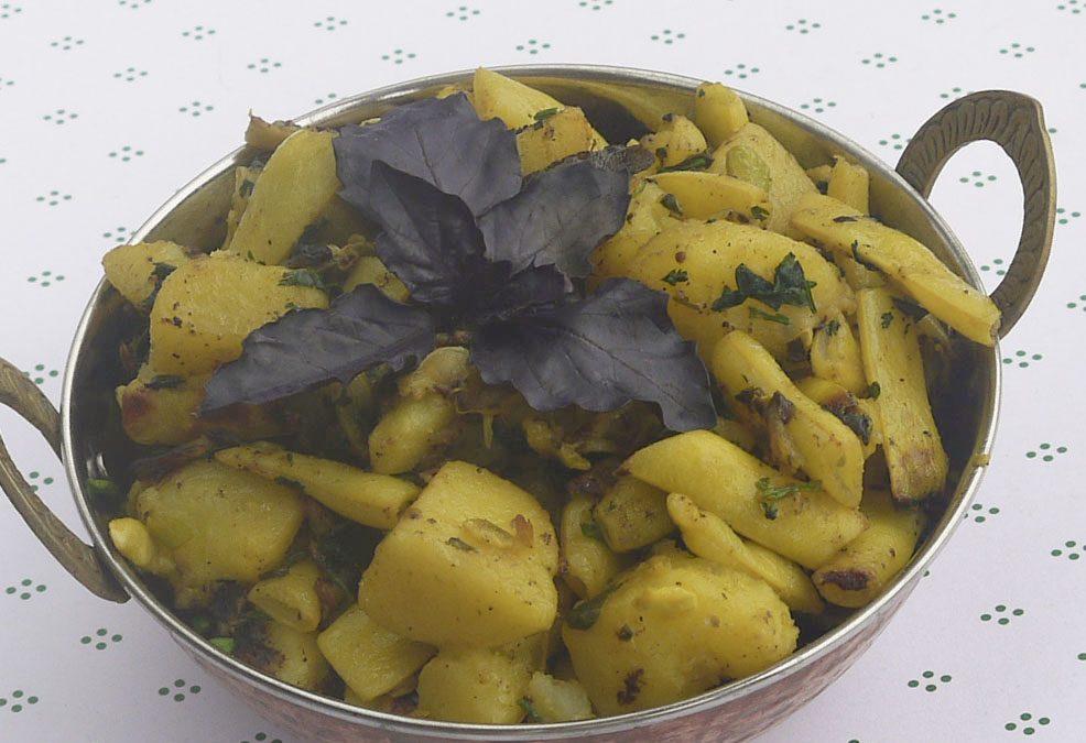 Krumpli-zöldbab charchari