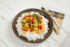 Édes-savanyú tofu