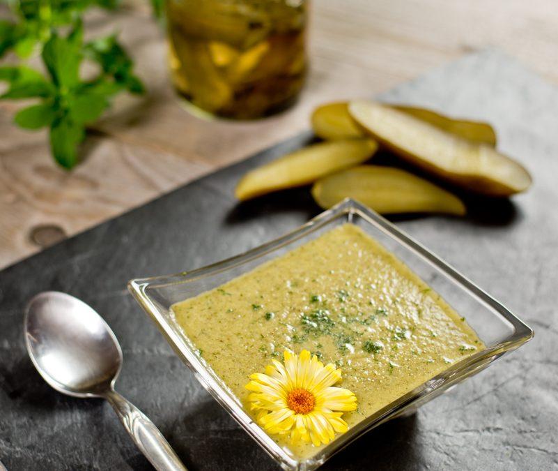 Kovászos uborka leves