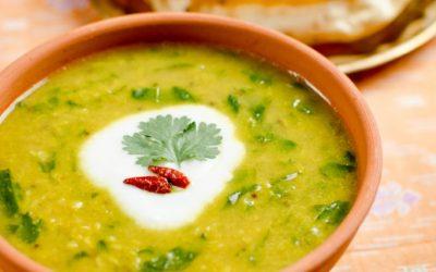 Dhal – indiai mungóbab leves
