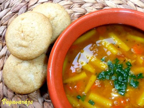 Sambar – dél-indiai fűszeres leves