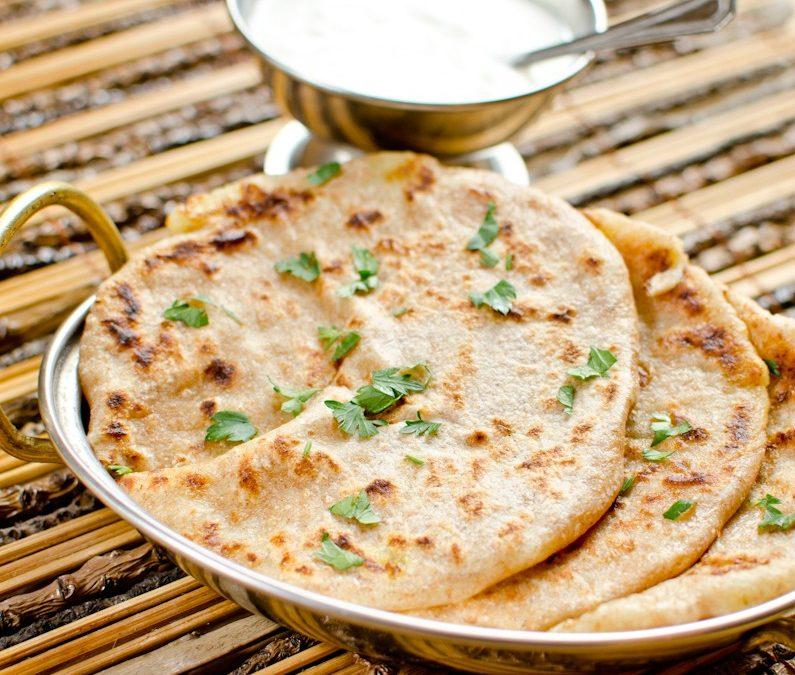 Alu parata – ízletes krumplis lepény Indiából