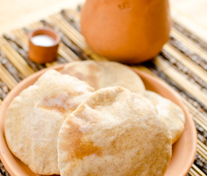 Alu naan – fűszeres krumplival töltött indiai kenyér
