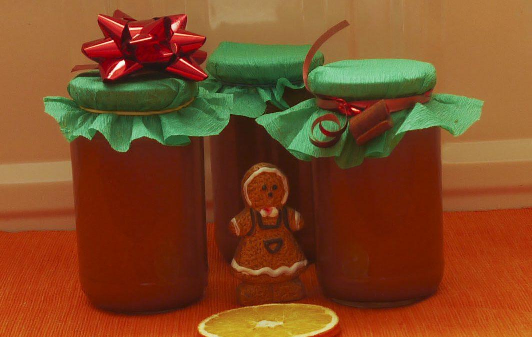 Sütőtök-narancs-alma lekvár