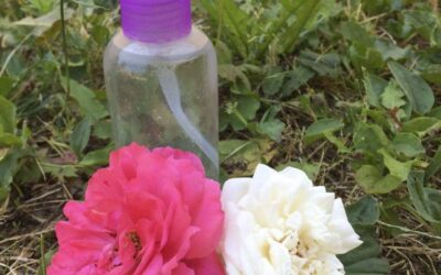Rózsavizes nyári testpermet