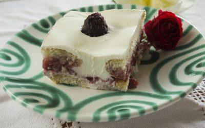 Epres-tejfölös rakott sütemény