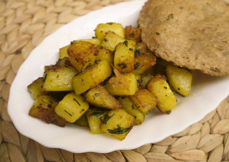 Krumpli masala
