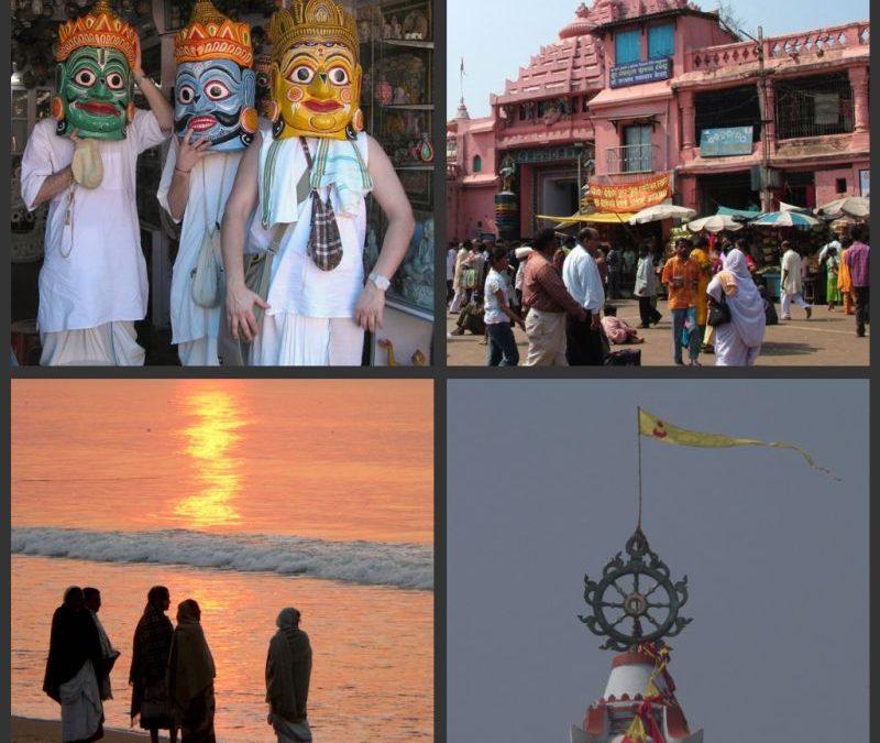Puri városának híressége, a gadzsa
